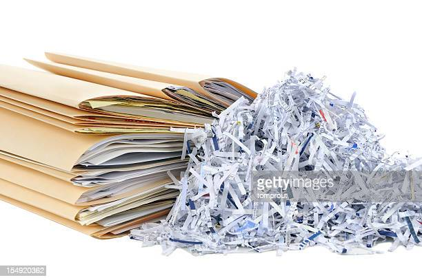 Shredding Documents