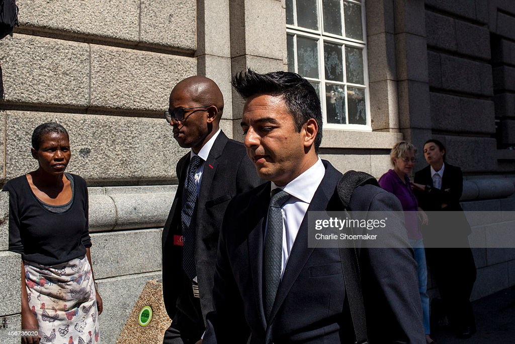 <a gi-track='captionPersonalityLinkClicked' href=/galleries/search?phrase=Shrien+Dewani&family=editorial&specificpeople=7343604 ng-click='$event.stopPropagation()'>Shrien Dewani</a>'s brother Preyen Dewani arrives back at the Western Cape High Court after a lunch break on the the start of the trial of <a gi-track='captionPersonalityLinkClicked' href=/galleries/search?phrase=Shrien+Dewani&family=editorial&specificpeople=7343604 ng-click='$event.stopPropagation()'>Shrien Dewani</a>, on October 6, 2014 in Cape Town, South Africa. British businessman <a gi-track='captionPersonalityLinkClicked' href=/galleries/search?phrase=Shrien+Dewani&family=editorial&specificpeople=7343604 ng-click='$event.stopPropagation()'>Shrien Dewani</a>, who fought an extradition battle for three years, is accused of arranging the murder of his new wife in 2010, just days after their marriage. A South African taxi driver and two accomplices are serving prison sentences for their connection with the murder of Mrs Dewani.
