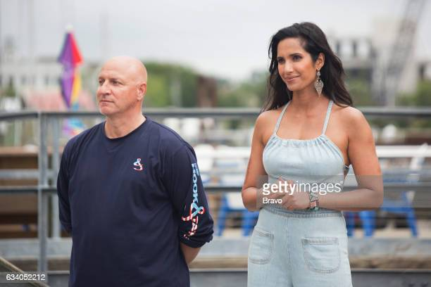 TOP CHEF 'Shrimp Boats and Hat Ladies' Episode 1410 Pictured Tom Colicchio Padma Lakshmi
