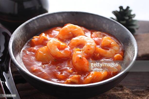 shrimp chili sauce,dishes image