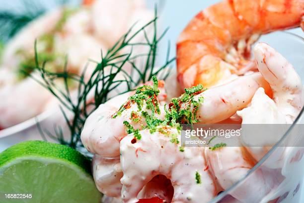 Shrimp Cocktail Close-up