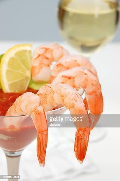 Cocktail de crevettes roses