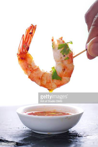 Shrimp dipping savory sauce