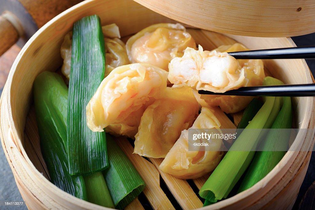 Shrimp Dumpling : Stock Photo