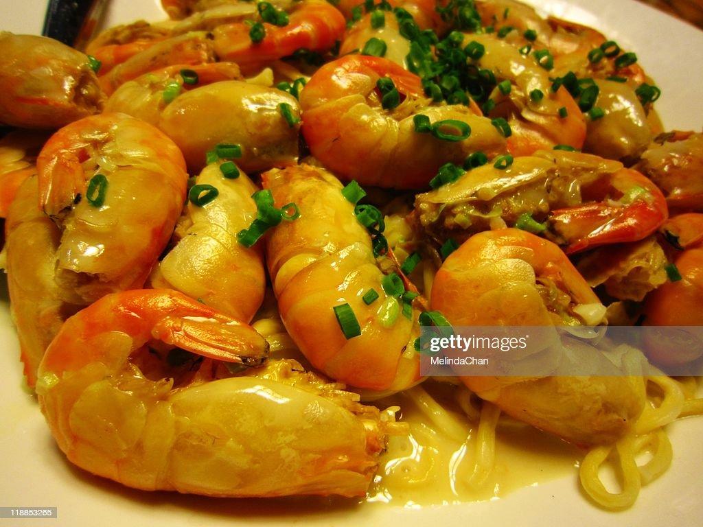 Shrimp noodle : Stock Photo