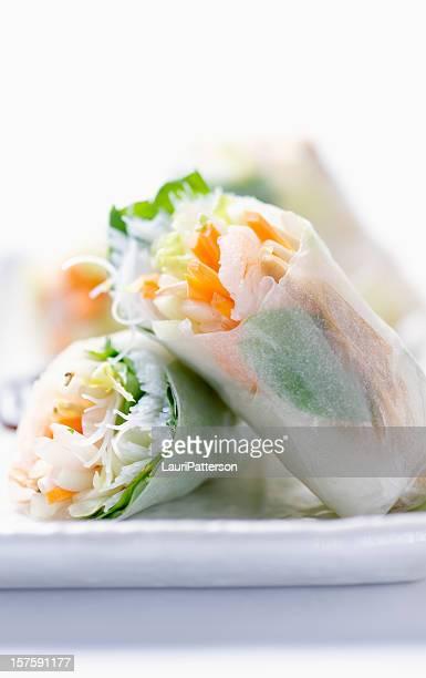 Shrimp Rice Paper Rolls