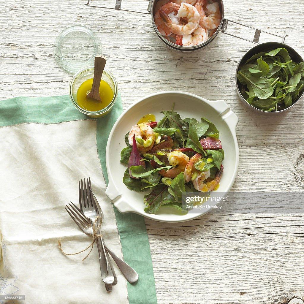 Shrimp Salad : Stock Photo