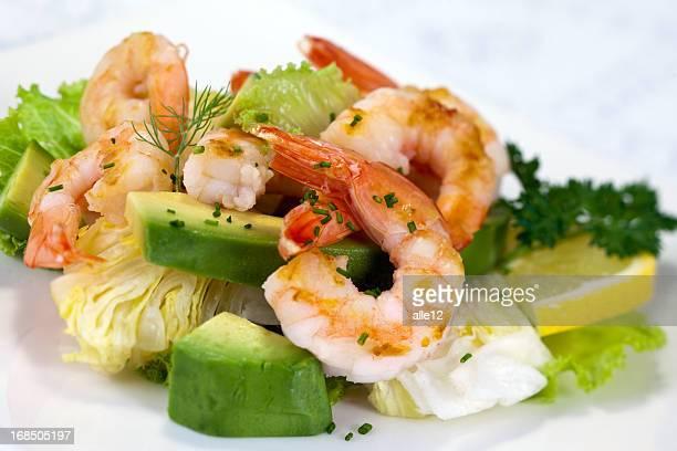 Shrimp-Salat