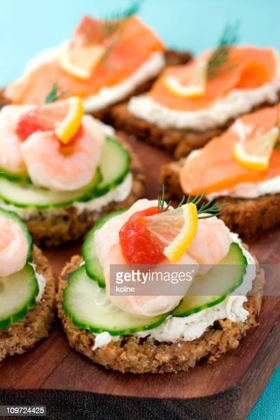Shrimp & Salmon Appetizers