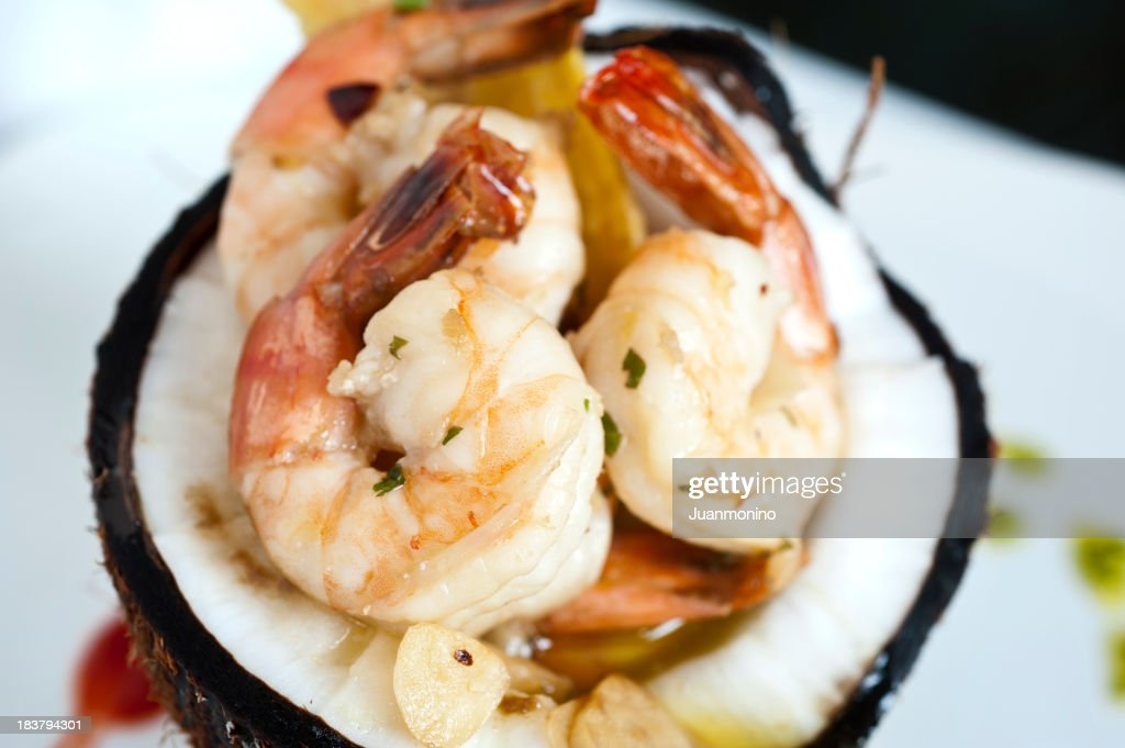 Shrimp Scampi : Stock Photo
