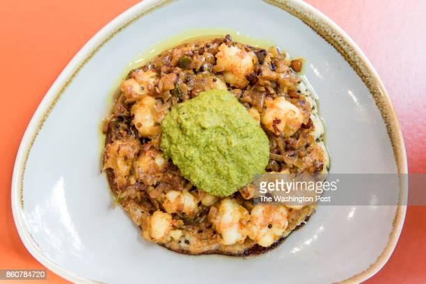 Shrimp Uttapam at Bindaas
