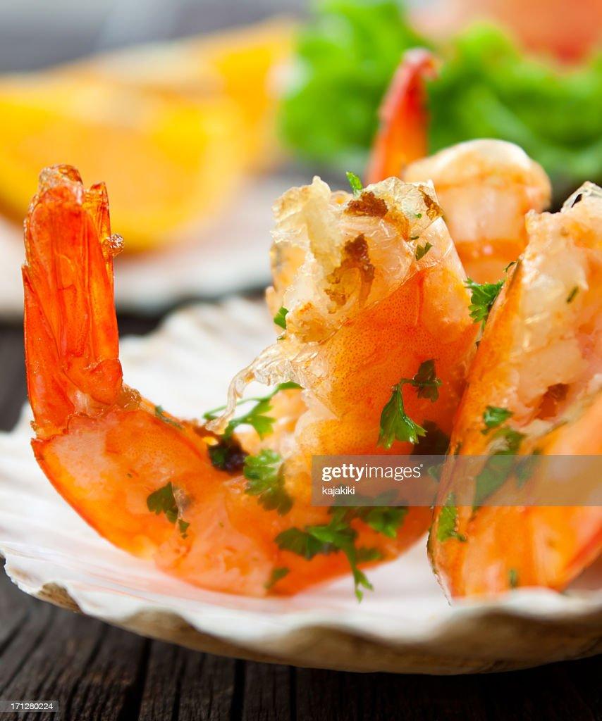 Shrimps : Stock Photo