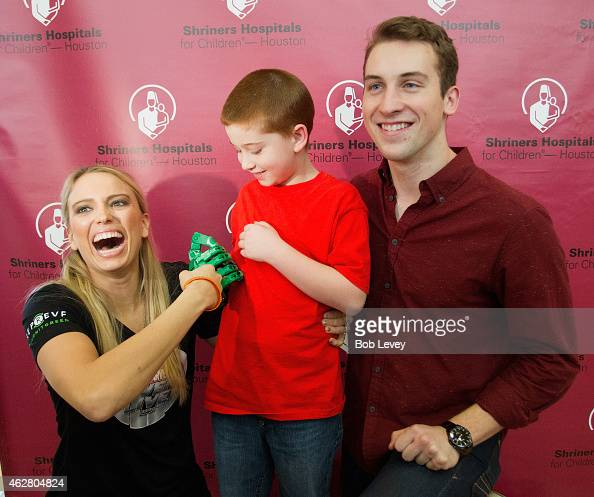 Shriners Hospital For ChildrenHouston and Marvel Universal Live performers help assemble 3D mechanical hands at Shriners Childrens Hospital on...