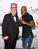 Shriners Hospitals for Children Los Angeles Board Chairman David R Doan and boxer Brian Reynolds attend ECOLUXE Presents 'Salute To OSCAR Noms' Party...