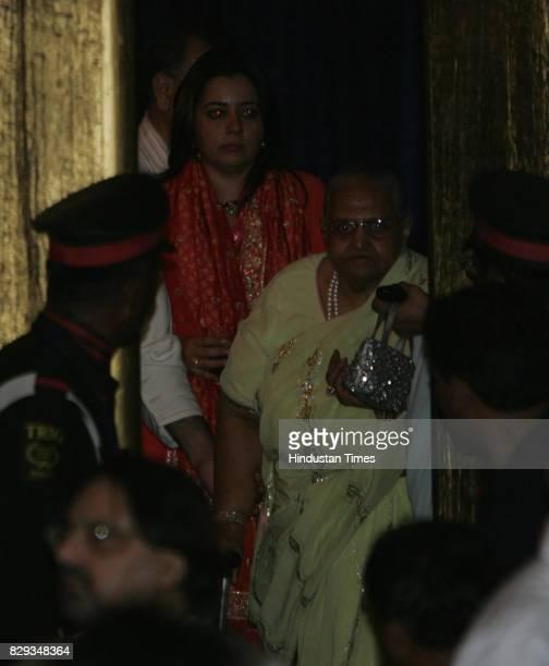 Shrishti Arya at the wedding of Aishwarya and Abhishek Bachchan