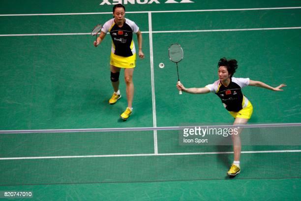 Shu CHENG / Yunlei ZHAO Double Femme Championnats du Monde de Badminton 2010 Stade Pierre de Coubertin Paris