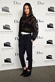 Shu Pei attends the Guggenheim International Gala PreParty made possible by Dior on November 5 2014 in New York City