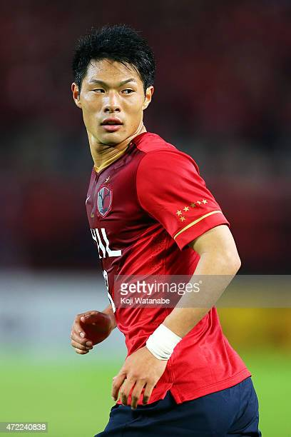 Shuhei Akasaki of Kashima Antlers in action during the AFC Champions League Group H match between Kashima Antlers and FC Seoul at Kashima Stadium on...