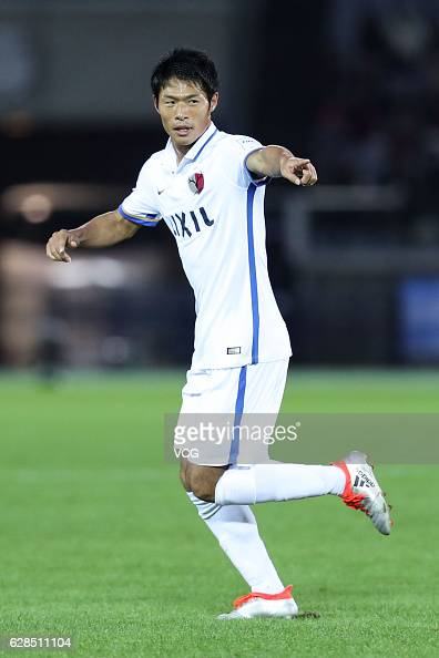 Shuhei Akasaki of Kashima Antlers in action during the first round match of FIFA Club World Cup Playoff for Quarter Final match between Kashima...