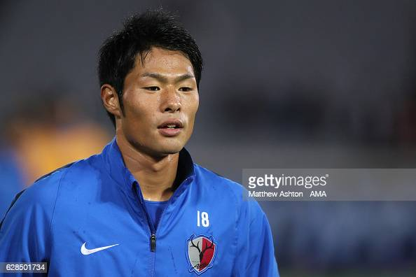 Shuhei Akasaki of Kashima Antlers warms up prior to the FIFA Club World Cup Playoff for Quarter Final match between Kashima Antlers and Auckland City...