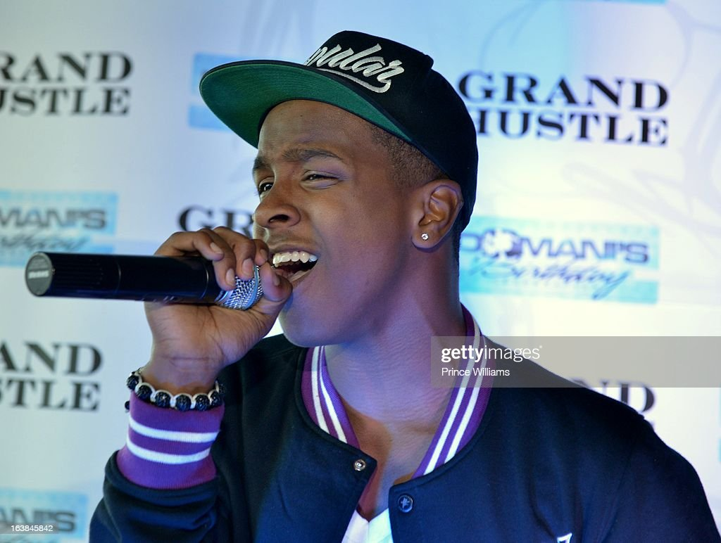 Shun Hendrix attends Domani Harris's birthday celebration at Indigo on March 16, 2013 in Toronto, Canada.