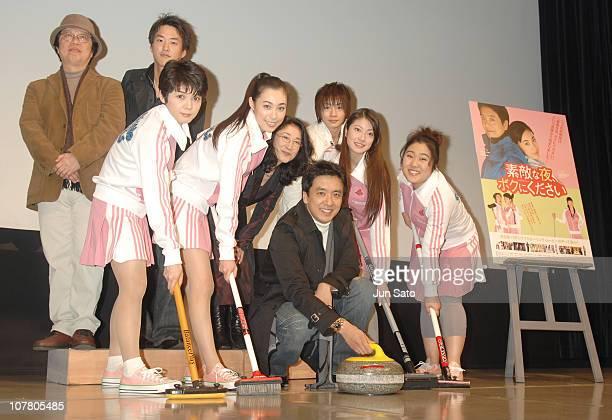 Shun Nakahara Fusako Urabe Kazue Fukiishi Hana Kono Kim SeungWoo Megumi Seki and Moe Edamoto