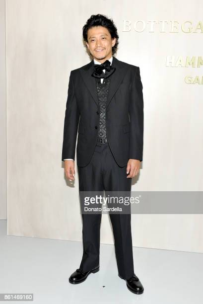 Shun Oguri at the Hammer Museum 15th Annual Gala in the Garden with Generous Support from Bottega Veneta on October 14 2017 in Los Angeles California