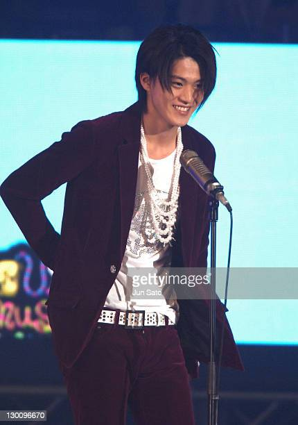 Shun Oguri during MTV Video Music Awards Japan 2005 Show at Tokyo Bay NK Hall in Urayasu Japan