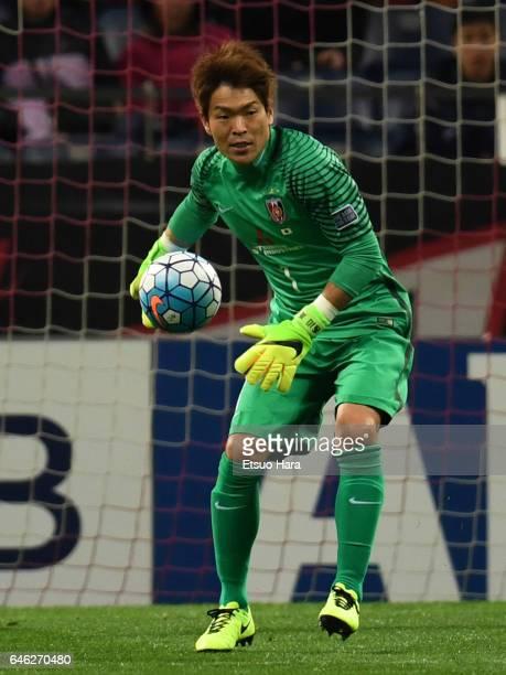 Shusaku Nishikawa of Urawa Red Diamonds in action during the AFC Champions League match Group F match between Urawa Red Diamonds and FC Seoul at...