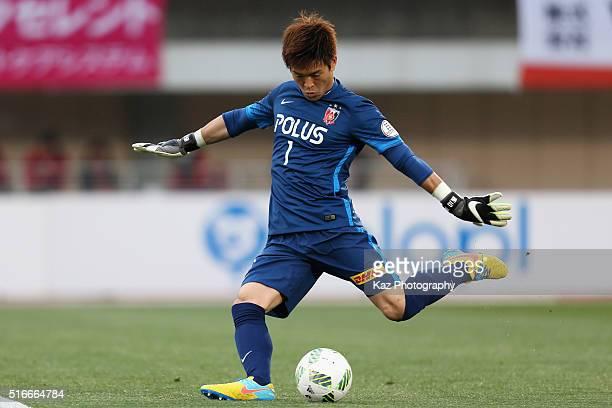 Shusaku Nishikawa of Urawa Red Diamonds in action during the JLeague match between Shonan Bellmare and Urawa Red Diamonds at the Shonan BMW Stadium...