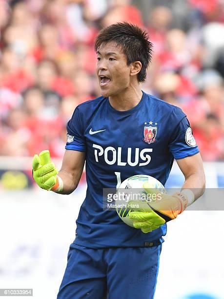 Shusaku Nishikawa of Urawa Red Diamonds in action during the JLeague match between Urawa Red Diamonds and Sanfrecce Hiroshima at the Saitama Stadium...