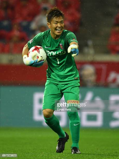 Shusaku Nishikawa of Urawa Red Diamonds in action during the JLeague J1 match between Urawa Red Diamonds and Jubilo Iwata at Saitama Stadium on June...