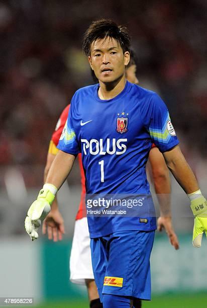 Shusaku Nishikawa of Urawa Reds in action during the JLeague match between Urawa Red Diamonds and Albirex Niigata at Saitama Stadium on June 27 2015...