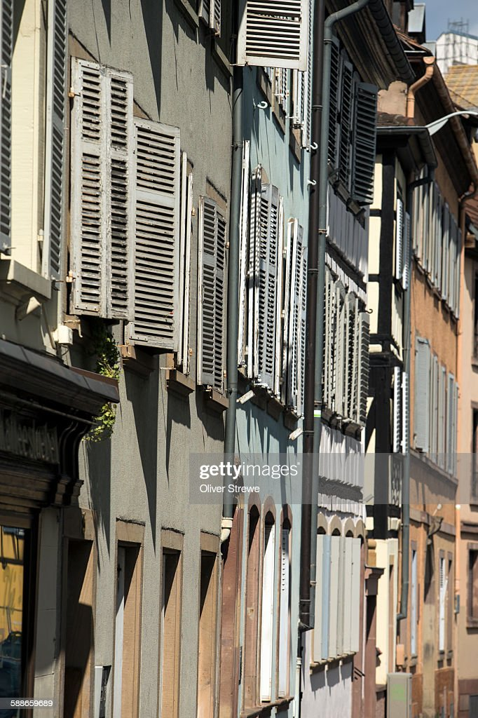Shuttered Apartments, Strasbourg