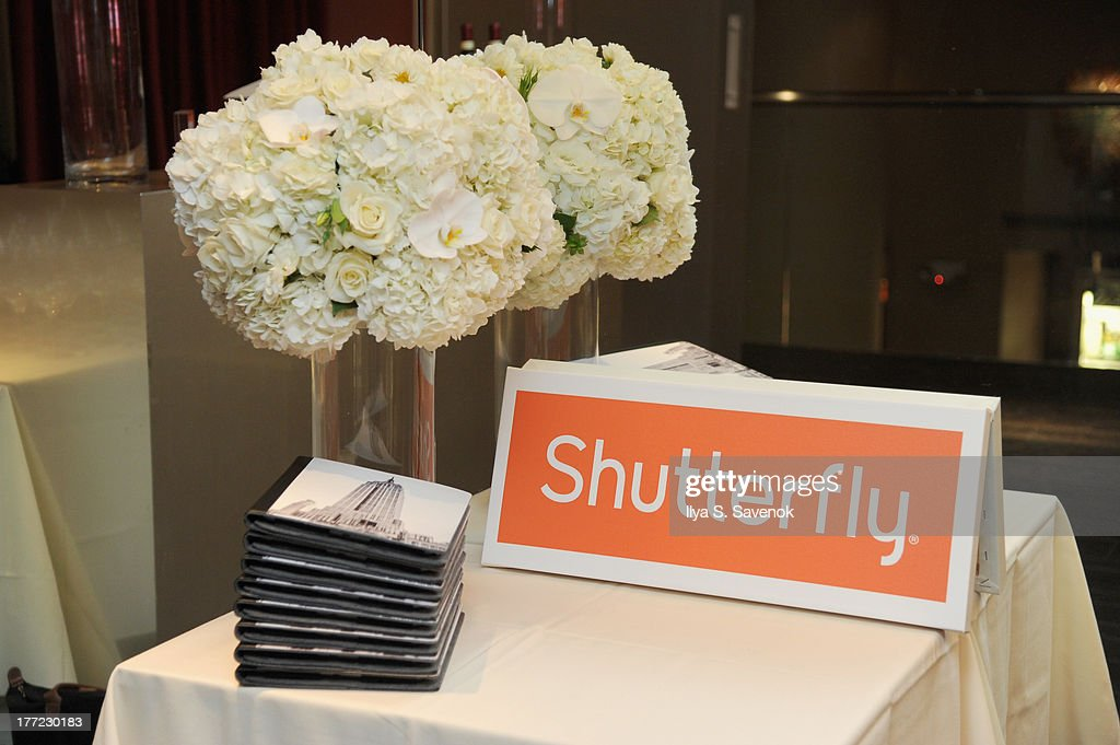 Shutterfly Photo Story for iPad dinner hosted by Rocco DiSpirito at SD26 on August 22, 2013 in New York City.