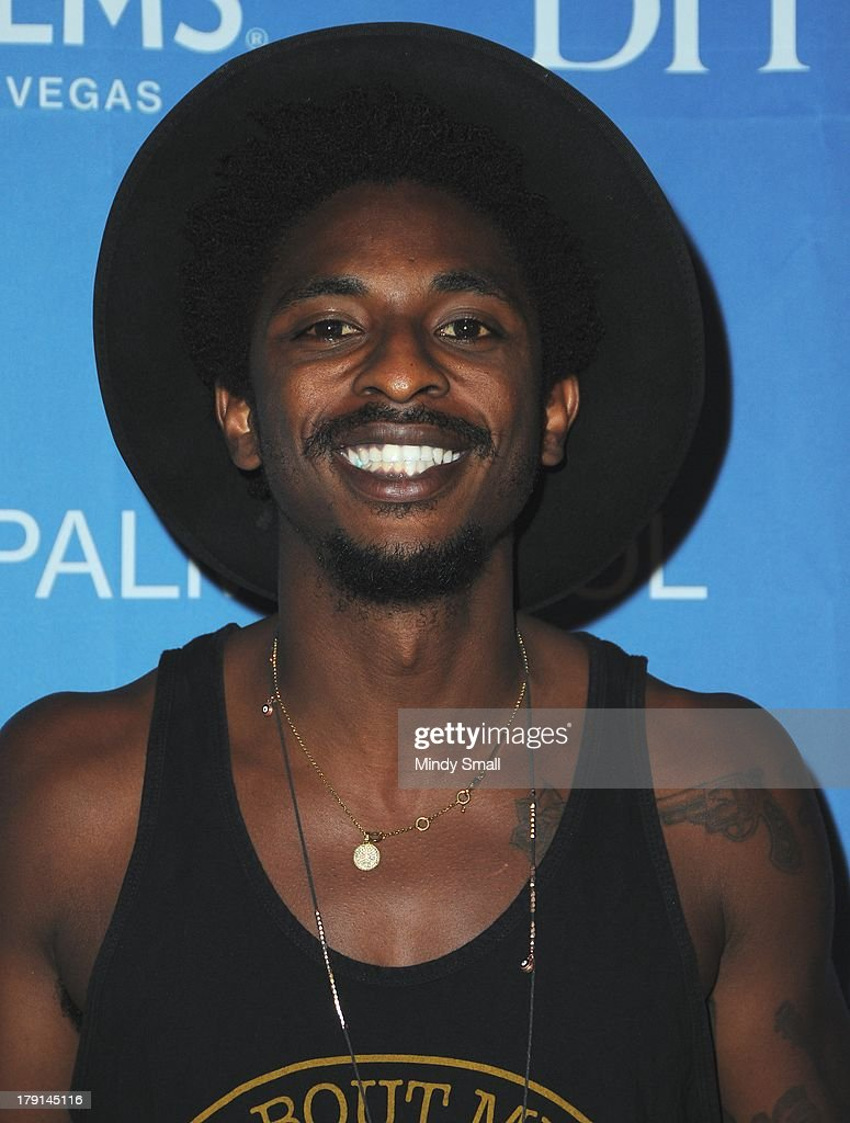 <a gi-track='captionPersonalityLinkClicked' href=/galleries/search?phrase=Shwayze&family=editorial&specificpeople=4198507 ng-click='$event.stopPropagation()'>Shwayze</a> arrives at 'Ditch Saturdays' at Ditch Pool & Dayclub at Palms Casino Resort on August 31, 2013 in Las Vegas, Nevada.