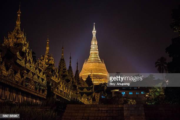 Shwedagon pagoda the heart of Yangon, Myanmar