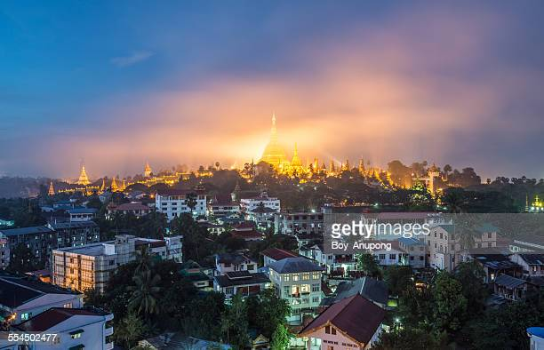 Shwedagon pagoda the heart of Yangon