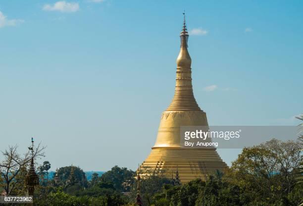 Shwemawdaw pagoda the tallest pagoda in Bago, Myanmar.