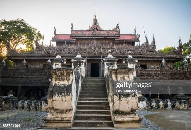 Shwenandaw Monastery All teak monastery originally part of the Royal Palace.