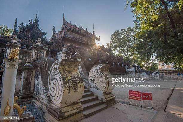 Shwenandaw Monastery , Mandalay , Myanmar