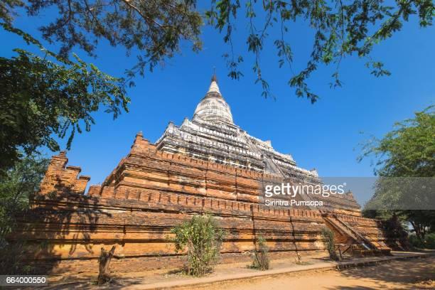 Shwesandaw pagoda landmark of Bagan city, Mandalay, Myanmar
