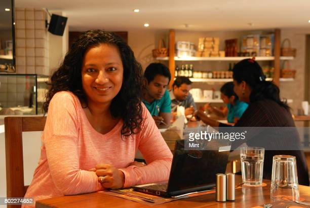 Shweta Sharma Kapadia Founder and CEO of Ditto poses for a photograph during an interview with Mint