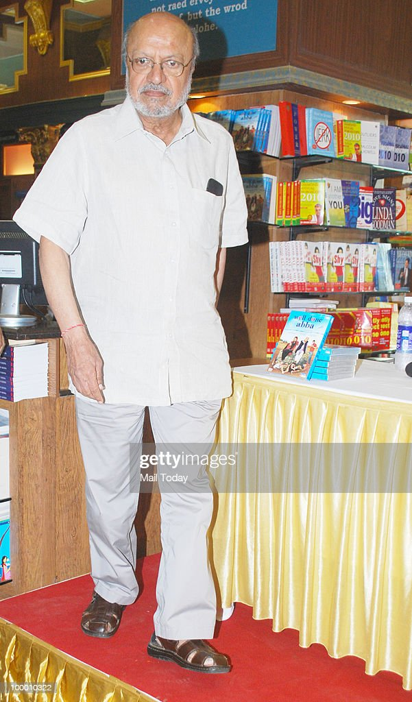 Shyam Benegal at the DVD launch of the film Well Done Abba in Mumbai on May 19, 2010.