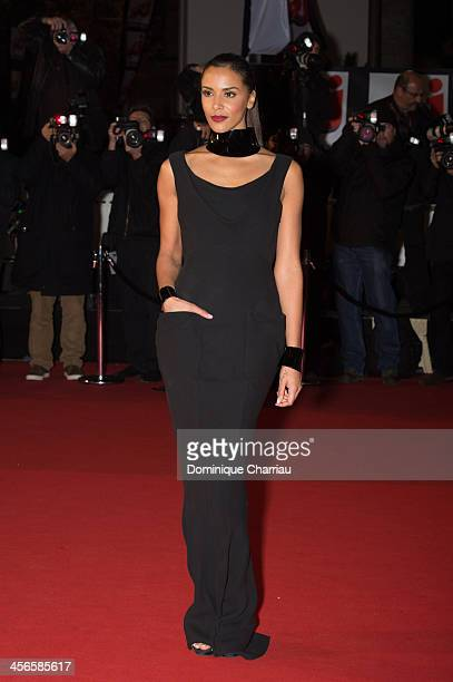 Shy'm arrives at the 15th NRJ Music Awards at Palais des Festivals on December 14 2013 in Cannes France