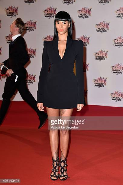 Shy'M attends the 17th NRJ Music Awards at Palais des Festivals on November 7 2015 in Cannes France