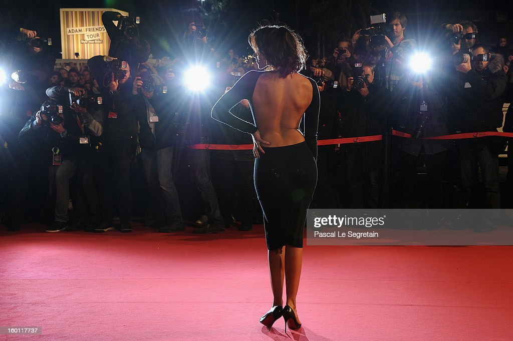 Shy'm attends the NRJ Music Awards 2013 at Palais des Festivals on January 26, 2013 in Cannes, France.