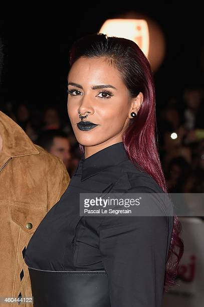 Shy'm attends the NRJ Music Awards at Palais des Festivals on December 13 2014 in Cannes France
