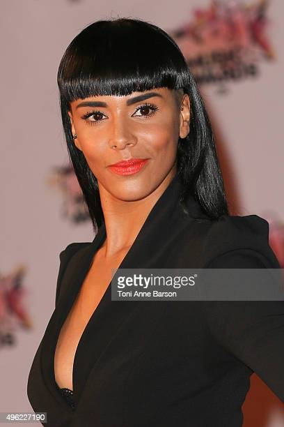 Shy'm attends the17th NRJ Music Awards at Palais des Festivals on November 7 2015 in Cannes France