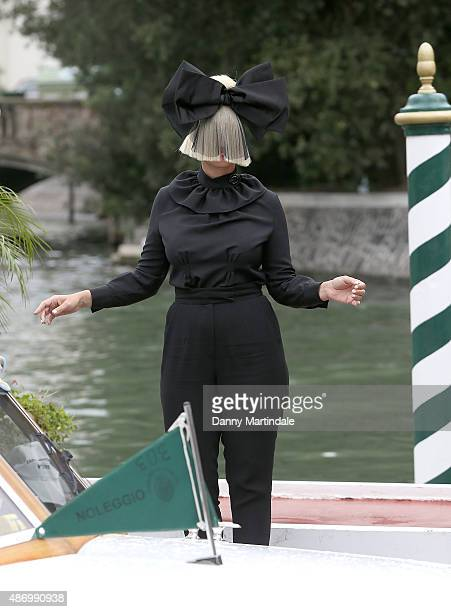 Sia attends day 4 of the 72nd Venice Film Festival on September 5 2015 in Venice Italy